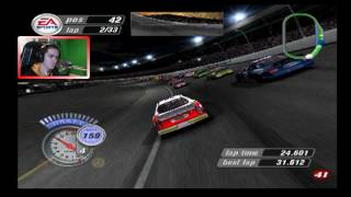 it was going so well lowe s   nascar thunder 2004 career mode race 31 36