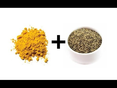 Turmeric and Black Pepper - Food Harmony Pair - Fight Cancer & Improve Liver Function