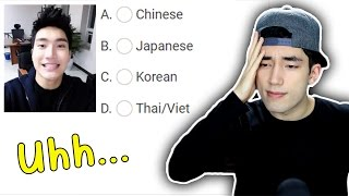 Guess The Asian! (Racism Test)