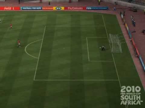 2010 FIFA World Cup - Rafael Van der Vaart Long Distance Goal