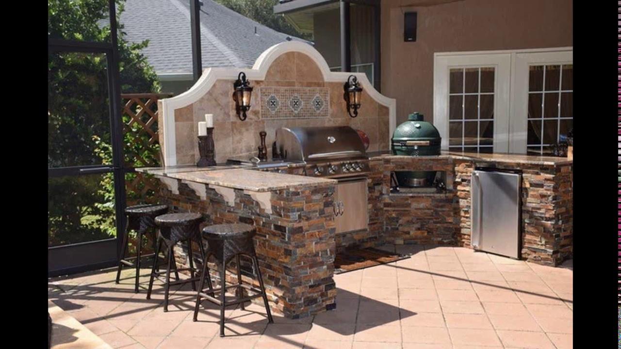 Green Egg Outdoor Kitchen Designs