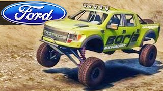 Ford Raptor 4x4 - Spin Tires 2014