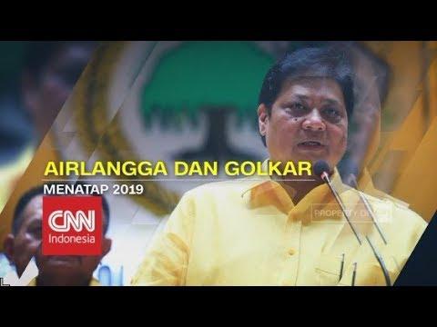 Airlangga: Jadi Cawapres atau Tidak, Golkar Tetap Dukung Jokowi - CNN Layar Pemilu Tepercaya