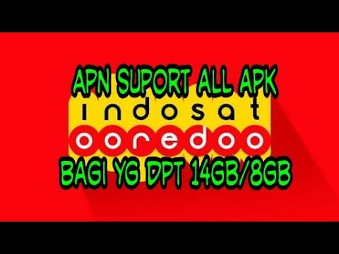 How to set apn indosat, suport all applications, for those who can quota from Indosat ooredoo