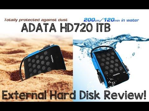 Download ADATA HD720 1TB External Hard Disk Review
