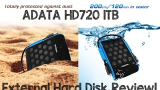 ADATA HD720 1TB External Hard Disk Review