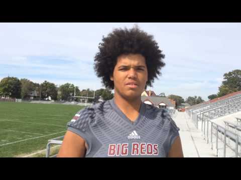 """Muskegon's Antwan """"A.J"""" Reed a new hot prospect in football recruiting"""