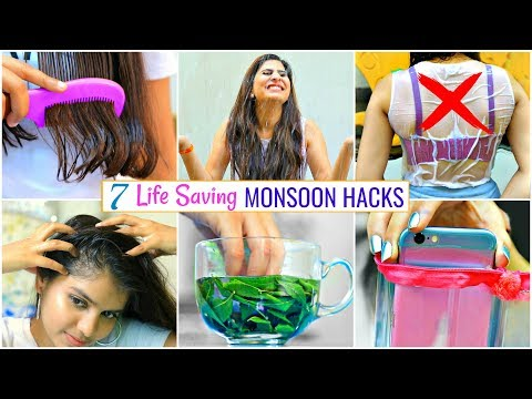 7-life-saving-monsoon-hacks-you-must-know..|-#haircare-#skincare-#lifehacks-#anaysa