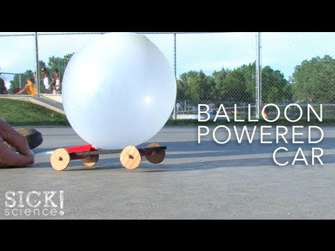 Balloon-Powered Car - SICK Science - The Lab