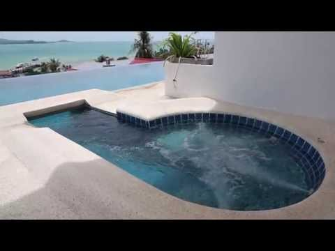 3-bedrooms Koh Samui Villas For Rent - Bophut View Penthouse - Thailand Holiday Homes