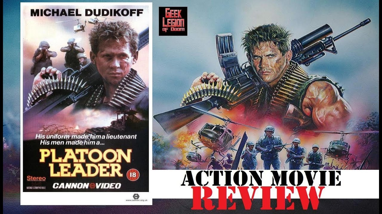 Download PLATOON LEADER ( 1988 Michael Dudikoff ) aka NAM War Action Movie Review