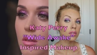 Katy Perry Wide Awake Inspired Makeup Tutorial!
