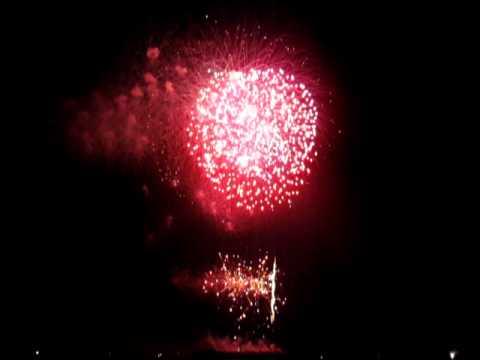 King of Thailand's 84th birthday firework show on Dec 2011.