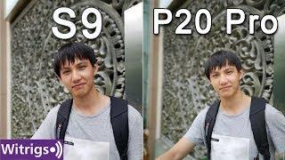 Samsung Galaxy S9 vs Huawei P20 Pro Camera Comparison | Low light photo comparison