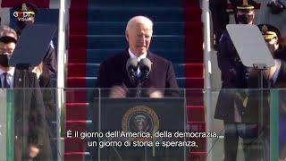 Inauguration Day, Joe Biden: