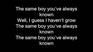 The Same Boy You've Always Known - The White Stripes (lyrics)