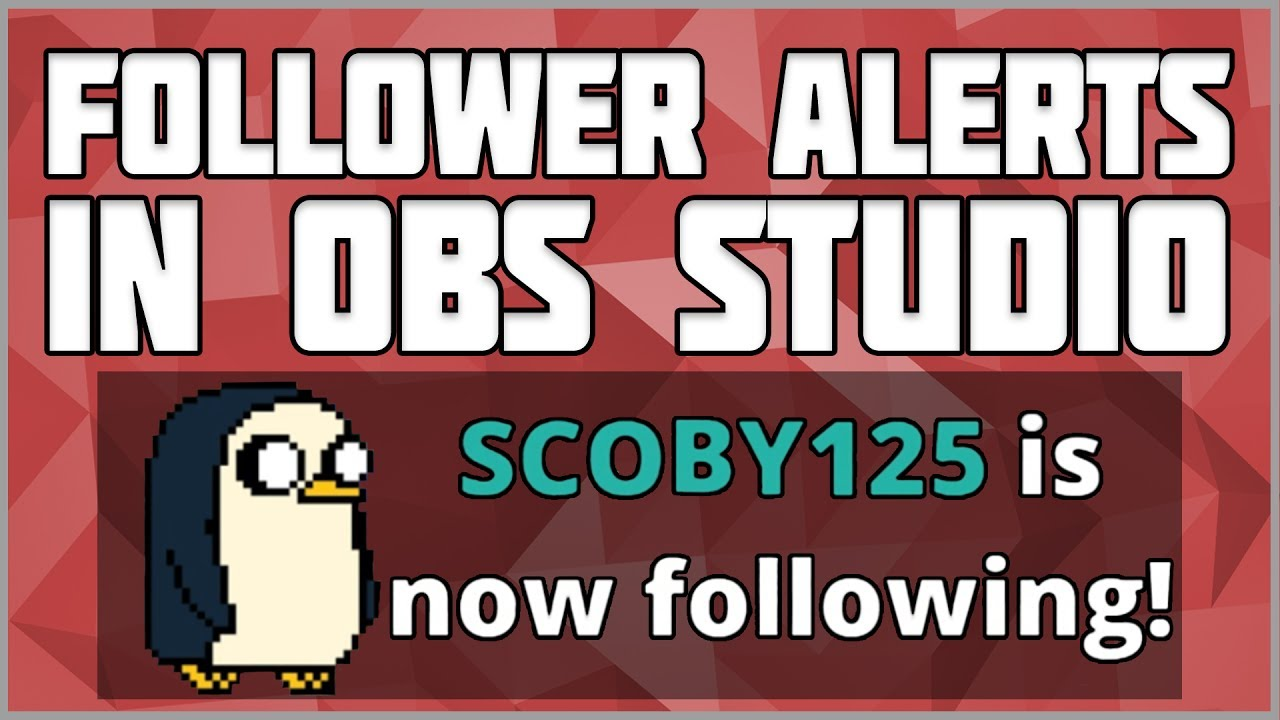 how to make a custom follower alert for twitch