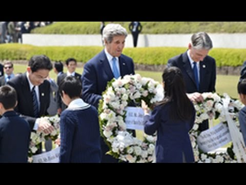 Kerry says Hiroshima 'gut-wrenching' reminder world should abandon nuclear weapons