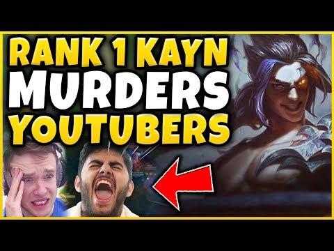 1 KAYN WORLD MURDERS RS REDMERCY & YASSUO RIP 10K CHALLENGE - League of Legends