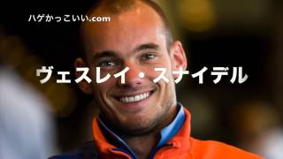 ヴェスレイ・スナイデル  ハゲかっこいいサッカー選手 (オランダ)