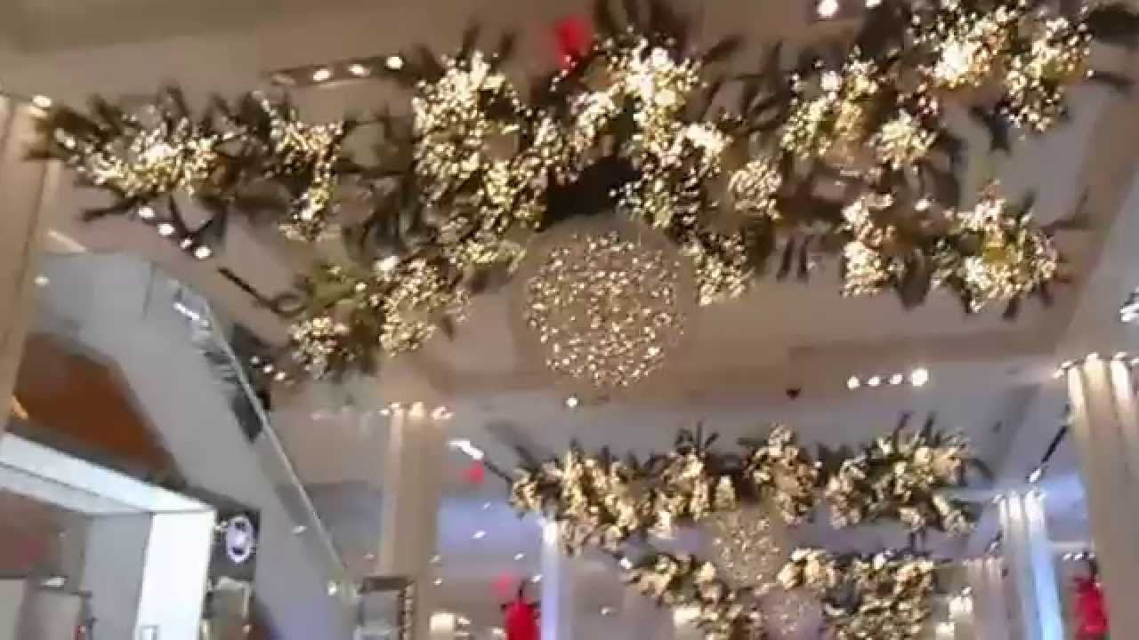 macys holiday decor 11 5 15 - Macys Christmas Decorations