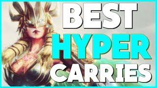 Smite - Top 5 Best Hyper-Carry Gods