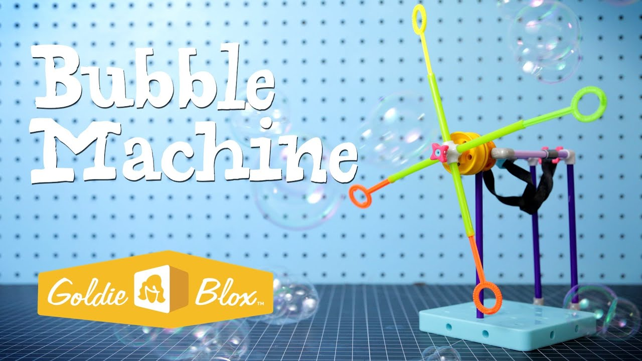 How to Build a Bubble Machine