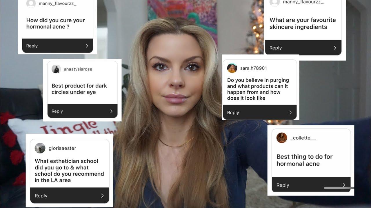 esthetician q & a part 2! | vlogmas 🎄🎄| bauer beauty