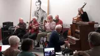 Bunny Berigan Jazz Jubilee 2014 - Bob Schultz All Stars playing Save It Pretty Mama & Melancholy