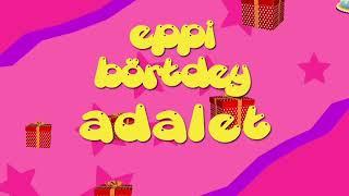 İyi ki doğdun ADALET - İsme Özel Roman Havası Doğum Günü Şarkısı (FULL VERSİYON) (REKLAMSIZ)