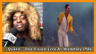 My First Time Watching Queen - One Vision Live At Wembley 1986 Reaction.mp3