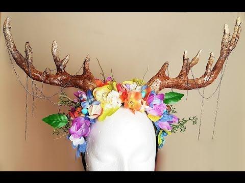 DIY Antler   Headdress