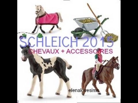schleich 2016 chevaux et accessoires youtube. Black Bedroom Furniture Sets. Home Design Ideas