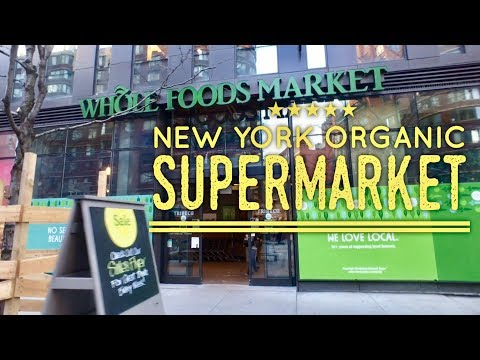 Whole Foods Market TriBeCa 270 Greenwich Street New York by