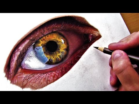 drawing-a-realistic-eye-in-colored-pencils