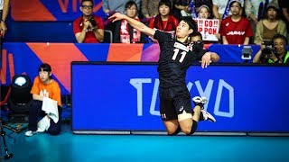 Yuji Nishida - Monster of the Vertical Jump - VNL 2019 (HD)