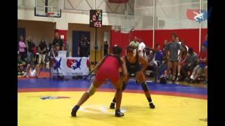 59kg Semifinal - Kelsey Campbell vs. Jenna Burkert