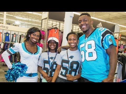 Thomas Davis leads shopping spree
