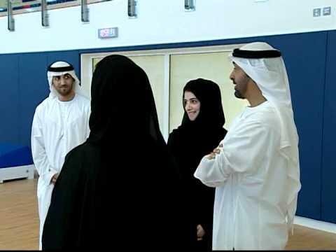 محمد بن زايد يزور الحرم الجديد لجامعة زايد