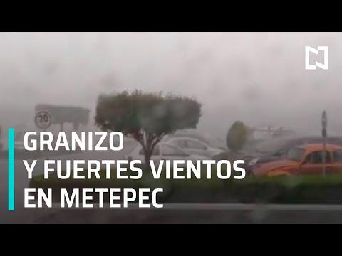 Afectaciones en Metepec tras fuerte lluvia - Las Noticias