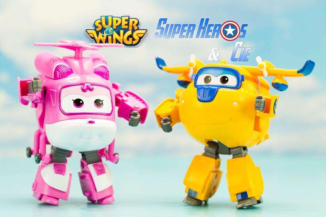 Super Wings Dizzy Donnie robots transformables en français 4k 출동슈퍼윙스 신제품  장난감 - 비행기 Робокар Поли - YouTube 756e3c4ee10d