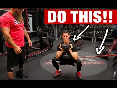 """How to Get a """"MONSTER"""" Squat! (3 BEST MOVES)"""