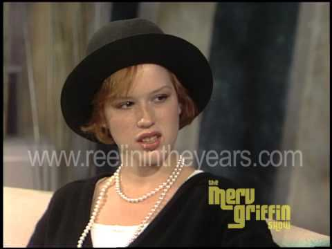 "Molly Ringwald Interview- ""16 Candles/BreakfastClub"" (Merv Griffin Show 1984)"