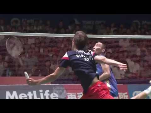 Yonex Japan Open 2016 | Badminton SF M2-MS | Lee Chong Wei vs Marc Zwiebler