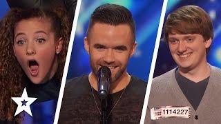 America's Got Talent 2016 Auditions | Brian Justin Crum, Sofie Dossi, Ryan Beard & More! Week 5