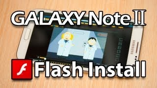 Flash Player for Samsung Galaxy Note 2 (Download apk direct from Adobe)