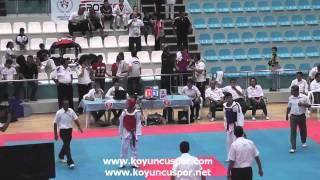 (3066) 57kg Final Enes Akıncı vs Eren Kacan (2013 Minikler Turkiye Taekwondo Sampiyonasi)
