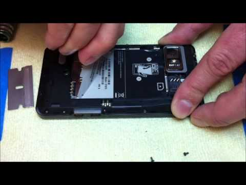 Droid Bionic Disassembly