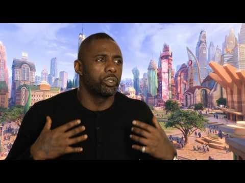 "Zootopia: Idris Elba ""Chief Bogo"" Official Movie Interview"