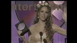 Mariah Carey - Receiving an Award @ 1998 Blockbuster Awards
